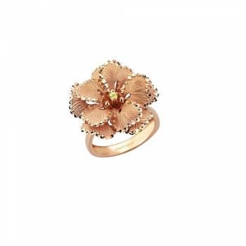 Золотое кольцо Roberto Bravo с сапфиром