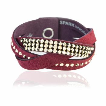 Замшевый браслет SPARK Mix Braid со Swarovski