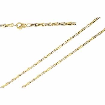 Золотая женская цепь ручной работы