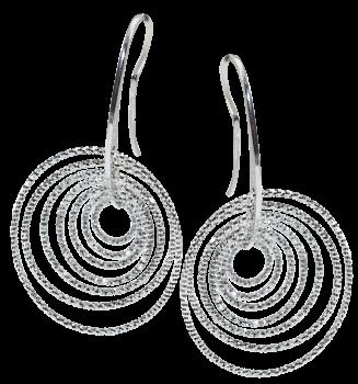 Серебряные серьги Cavaliere
