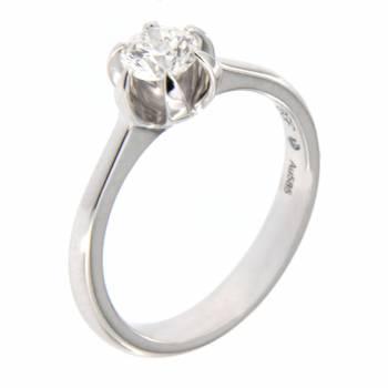 Золотое кольцо EGF (Germany) с бриллиантом
