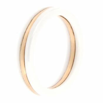 Золотое кольцо APM Monaco с керамикой