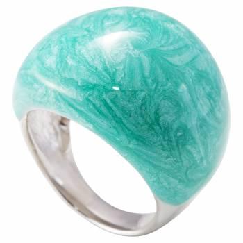 Серебряное кольцо MAGIE с эмалью