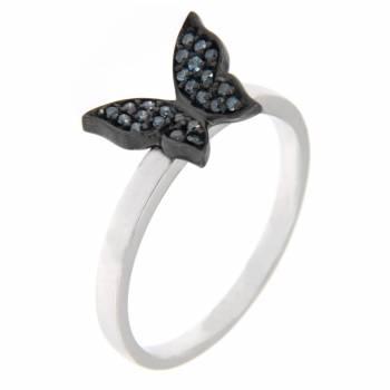 Золотое кольцо Roberto Bravo с бриллиантами