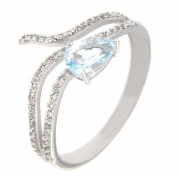 Золотое кольцо APM Monaco с топазом