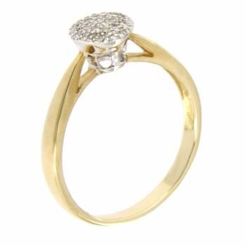 Золотое кольцо APM Monaco с бриллиантами