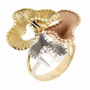 Кольцо золотое Roberto Bravo